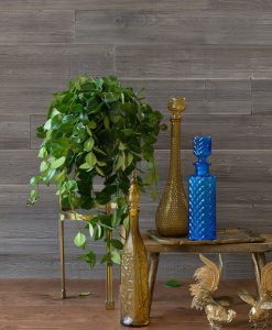 Real Wood Wall Panels Dark Brown